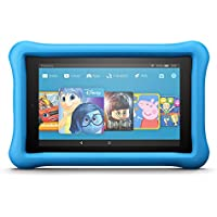 "Fire HD 8 Kids Edition Tablet, 8"" Display, 32 GB, Blue Kid-Proof Case"