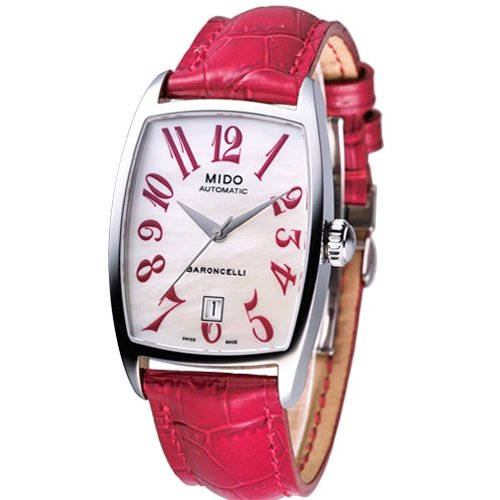 Mido Ladies Watch Automatic Baroncelli Tonneau M0033071611200