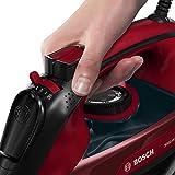 Bosch TDA503001P Dampfbügeleisen Sensixx'x EditionRosso