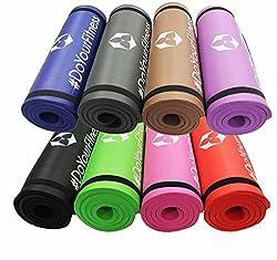 #DoYourFitness Fitnessmatte - Extra-dick und weich, ideal für Pilates, Gymnastik und Yoga - Maße: 183 x 61 x 1,5cm - Pink