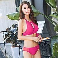 AN Traje de baño del Bikini del Verano Traje de baño Simple de Las señoras Occidentales del Traje de baño de Las señoras Occidentales,do,L