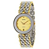 Rado Men's Florence 35mm Two Tone Steel Bracelet Swiss Quartz Watch R48793253
