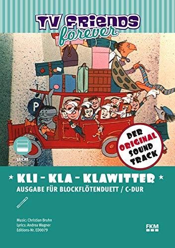 Kli-Kla-Klawitter: Der knallrote Autobus (German Edition)