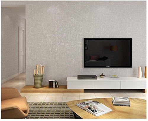Ayzr Plain Tapete Wohnzimmer Moderne, Minimalistische Mode Wallpaper Gewebt, Grau