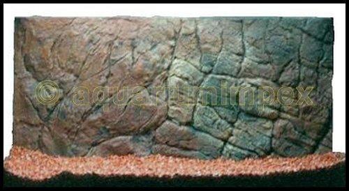 3D Aquarium Rückwand 60x30 Aquariumrückwand Dünn