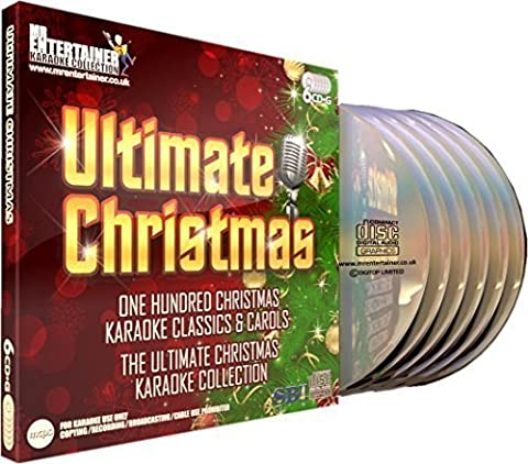 Mr Entertainer Karaoke Ultimate Christmas - 100 Song 6 Disc CD+G (CDG) Pack by Pogues & Kirsty McCall