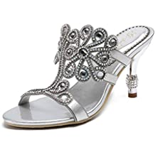 Amazon.es: cadenas para zapatos - Plateado