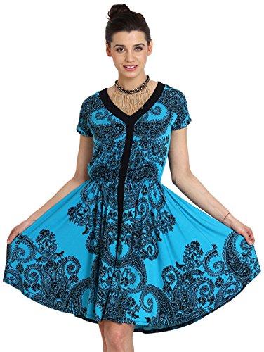 Avirate Women's Cocktail Dress (AVDR100831_Multi-Colored_8)