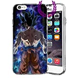 MIM Global Dragon Ball Z Super GT iPhone Hulle/Schalen Case Cover - Hochste Qualitat - Goku - Gohan - Vegeta - DBS - DBZ - DBGT (iPhone 7 Plus/8 Plus, Beast)