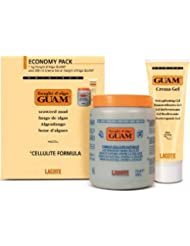 Guam Fango Kurpackung klassische Formel: 1 kg Algenfango + 250 ml hautstraffendes Gel für eine gesunde, schöne und straffe Haut