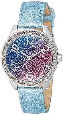 Guess Sweetie Reloj De Mujer Cuarzo 36mm Correa De Cuero Caja De Acero W0754l1