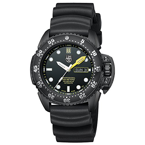 Luminox Mens Automatic Watch, Analogue Classic Display and Rubber Strap XS.1521