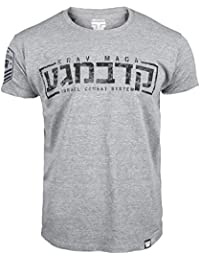 Krav Maga T-shirt. Thumbs Down. Fighting Skills. Israel Combat System. Martial Arts. MMA T-shirt