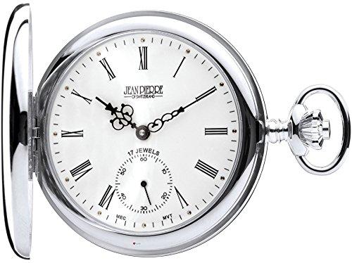 Sterling Silber Taschenuhr Volle Hunter - 17 Jewel mechanische Bewegung