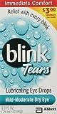 Best Dry Eye Drops - Blink Tears Lubricating Mild-Moderate Dry Eye Drops, 0.5 Review