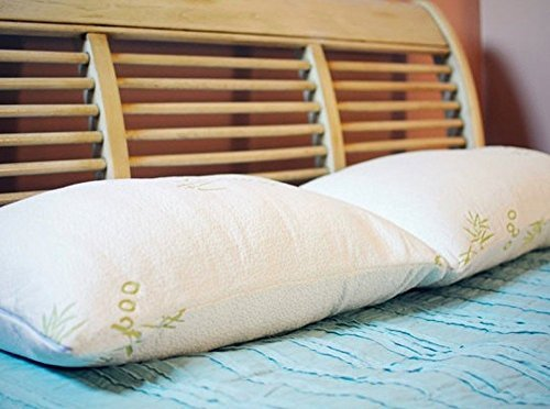 original-bamboo-shredded-memory-foam-pillow-with-removable-hypoallergenic-pillow-cover-case-queen