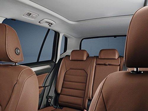 Crème solaire VW Polo 6R/6C., Lunette arrière et page des disques arrière, Set, 4 Türer
