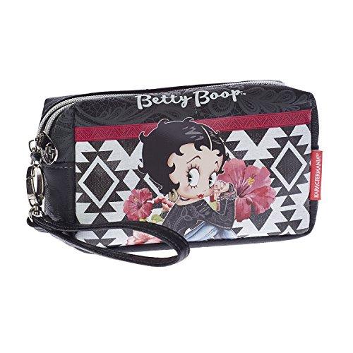 Boop Tribal-Trousse de Toilette Box Kulturtasche, 18 cm, Schwarz (Black) (Flapper Kultur)