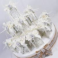 Tarta portapeladillas de varias alturas con farolillos metálicos con luz LED y decorados con detalles en
