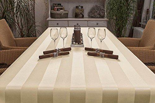 Exclusive Tischdecke eckig aus deutscher Produktion mit LOTUSEFFEKT, pflegeleicht Mailand Farbe:...