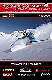 Freeride Map Hohe Tauern Select / Ankogel, Gastein, Heiligenblut, Mölltaler Gletscher: Maßstab 1:25 000