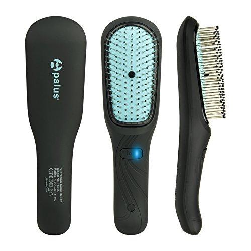 Apalus® Vibrations IONEN Haarbürste|Die Elektrische Kopf-Massage-Bürste für Haar Pflege,Gesunde Kopfhaut und Glänzende Haare Stimuliert das Haarwachstum,Entwirrt die Haare und Massiert die Kopfhaut