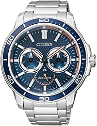 Citizen Analog Blue Dial Men's Watch - BU2040-56L