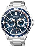 Citizen Herren-Armbanduhr Analog Quarz Edelstahl BU2040-56L