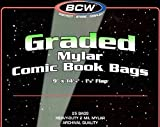 50 BCW Graded Mylar Comic Book Bags - Best Reviews Guide