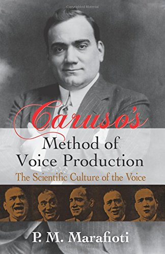 Caruso'S Method Of Voice Production The Scientific Culture Of Vce Book