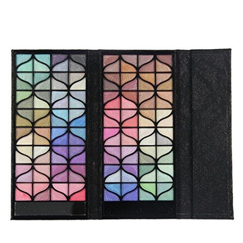 Palette de Fard à paupières, FantasyDay 128 Couleurs Professionnelle Shimmer Matte Ultra Pigmenté Bases de Ombre à paupières Maquillage Palette Cosmétique Set - Eyeshadow Makeup Beauty Kit