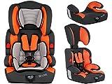 Autokindersitz Autositz Kinderautositz mit Extrapolster Kids 9-36 kg 1+2+3 ECE 4 Farben NEU...