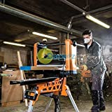 Daptez ® Professional Planer Thicknesser 317mm Woodworking Workshop Professional Tool