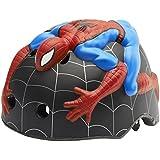Abus Crazy Stuff Spiderman - Casco de ciclismo infantil, color multicolor