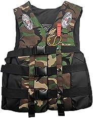 Honorall Fishing Life Jacket Water Sports Floatation Vest Adults Children Buoyancy Waistcoat