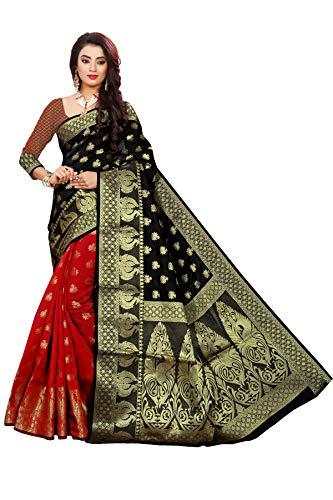 Indian Fashionista Women's Banarasi Silk Jac...