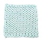 Windy5 Spesso Coperta di Lana Chunky Knit Zerbino Tappeto Divano Letto Coperta Lounge Decorator Home Decor a Mano a Maglia