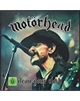 Clean Your Clock (2xLP Boxset w/ CD, DVD, BluRay and Ltd Edition Metal Motorhead Medal) [VINYL]
