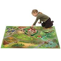 Kinderteppich-rutschfest-Spiel-Circuit-kann-Bauernhof-aus-Polyester-von-House-of-Kids-Teppich-fr-Kinder Kinderteppich rutschfest Spiel Circuit kann Bauernhof aus Polyester, von House of Kids, Teppich für Kinder -