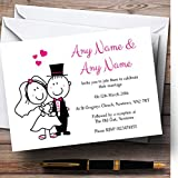 Bride And Groom Personalised Evening Reception Invitations