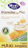 Hero Baby Natur Papilla 8 Cereales Miel - 1200 g