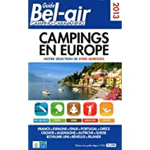 GUIDE BEL-AIR CAMPINGS EN EUROPE 2013