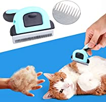 MAIKEHIGH Fellpflege-Werkzeug & Fellpflege-Gerät Für kleine, mittelgroße und große Hunde und Katzen mit kurzem oder langem Fell. Reduziert Haarausfall drastisch in nur wenigen Minuten