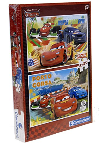 Clementoni Puzzle Cornice 2X20 Pz Cars - Made in Italy