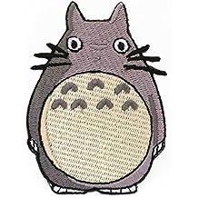 PARCHE BORDADO Mi vecino Totoro Patch 3 Hierro bordado en la insignia del traje Applique Motif