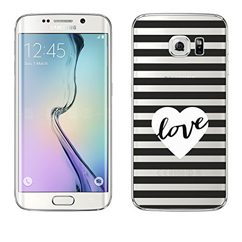 Samsung Galaxy S6 Edge Hülle von licaso® aus TPU schützt Dein S6...