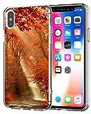 Caler Coque Compatible / Remplacement pour iPhone XS Max 6.5 Coque Transparent Mince...