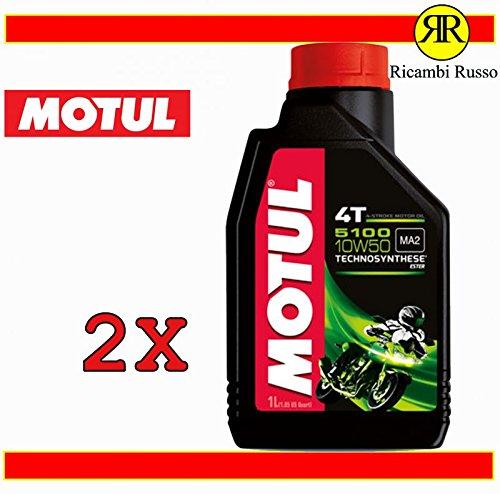 Motul 5100 10w50 4T olio motore moto 4 tempi litri 2