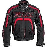 FLM Motorradjacke Motorradschutzjacke Sports Damen Textiljacke 2.0 rot/schwarz L