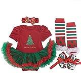 Così carino Costume di Natale ideale da indossare in tutte le occasioni, speciale per il Natale, la festa di compleanno, la danza, prendendo fotografie, ecc Il vostro bambino sarà attraente